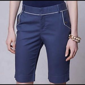 "Anthropologie Cantonnier 11"" Bermuda shorts"